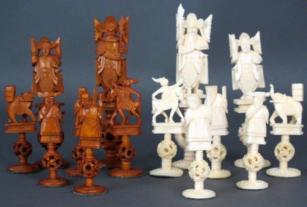 Ivory Chess Set - 2