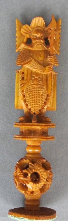 Ivory Chess Set - 3