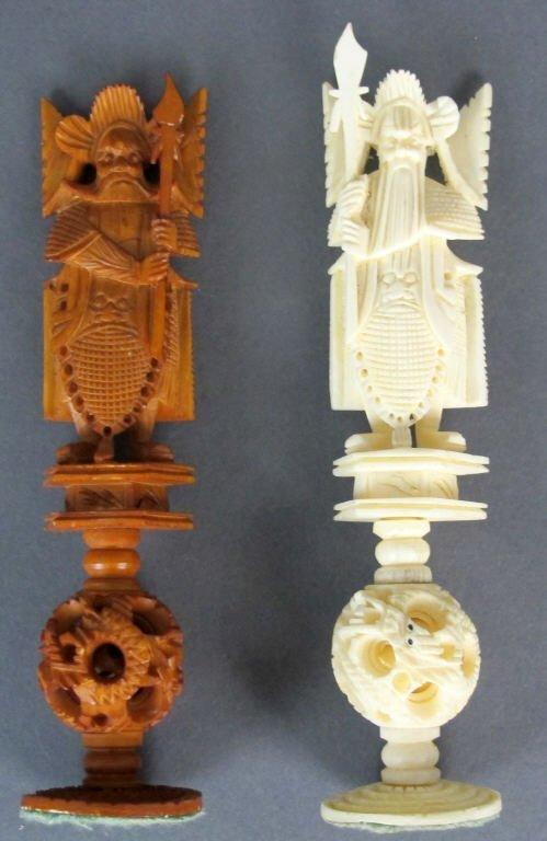 Ivory Chess Set - 4
