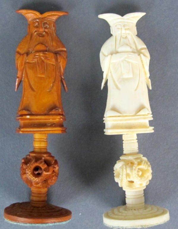 Ivory Chess Set - 6