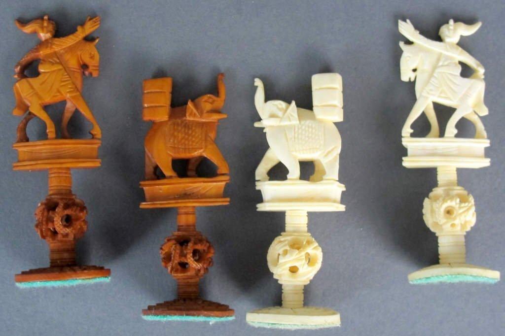 Ivory Chess Set - 7