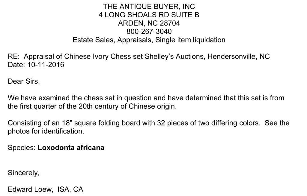 Ivory Chess Set - 8