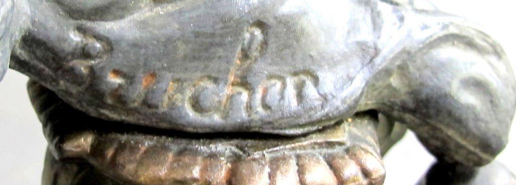 """Antique """"Triumph of Art' Juno Lamp - 5"""