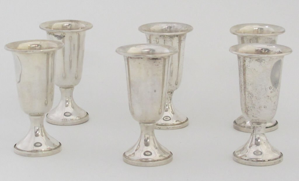 6 Towle Candle Holders
