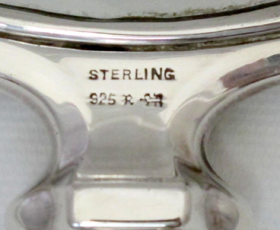 5 Piece Sterling Dresser Set - 6