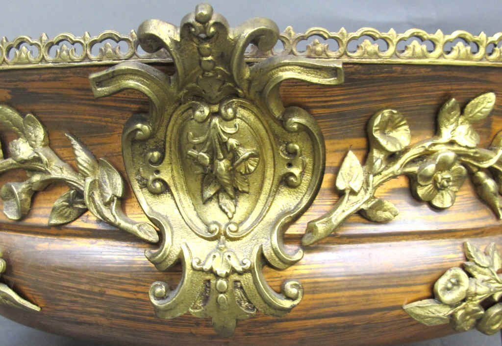 Copper and Brass Decorative Center Bowl - 5