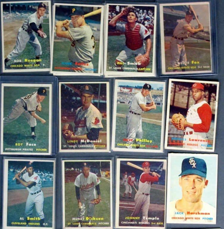 44 - 1957 TOPPS Baseball Cards - 3