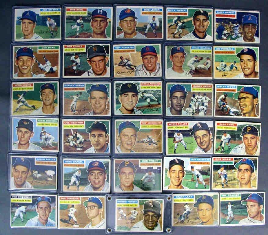 49 - 1956 TOPPS Baseball Cards