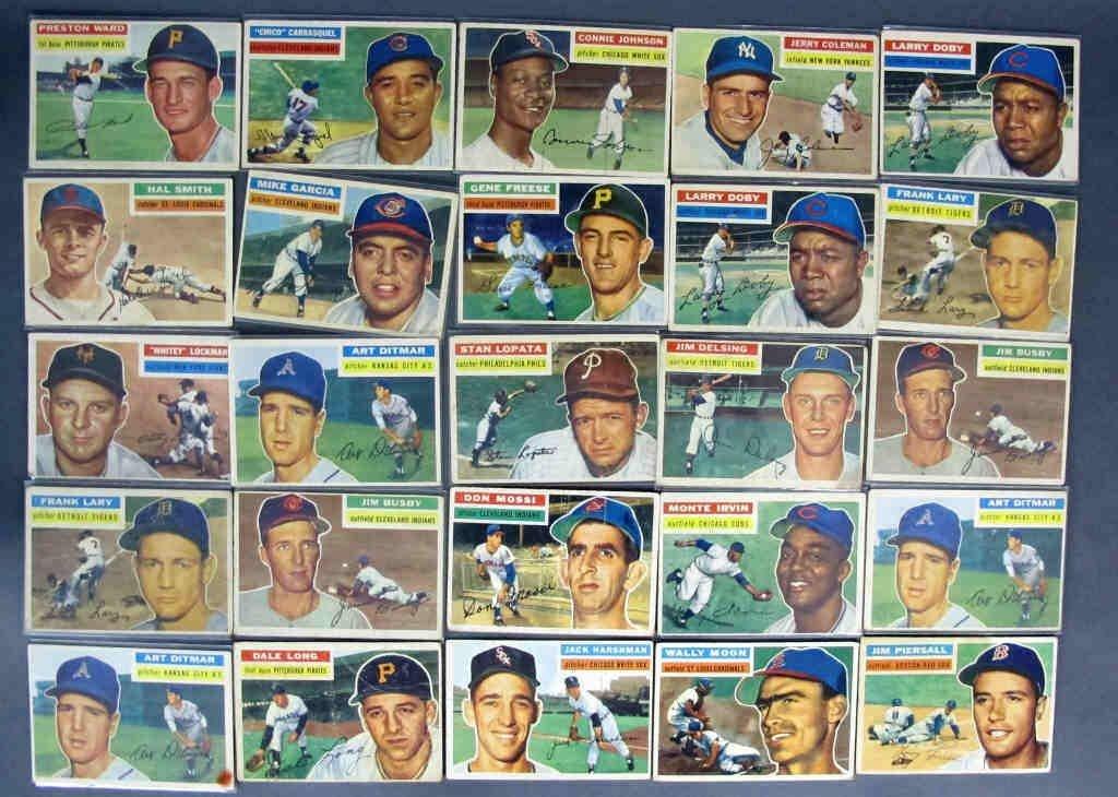 49 - 1956 TOPPS Baseball Cards - 2