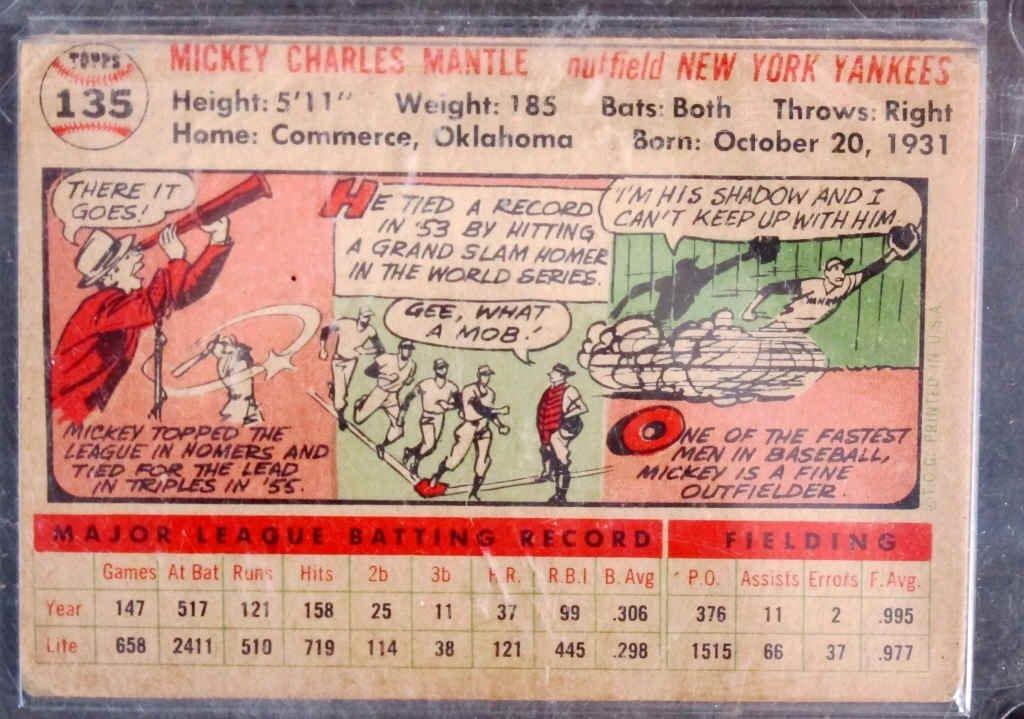 Mickey Mantle Baseball Card - 2