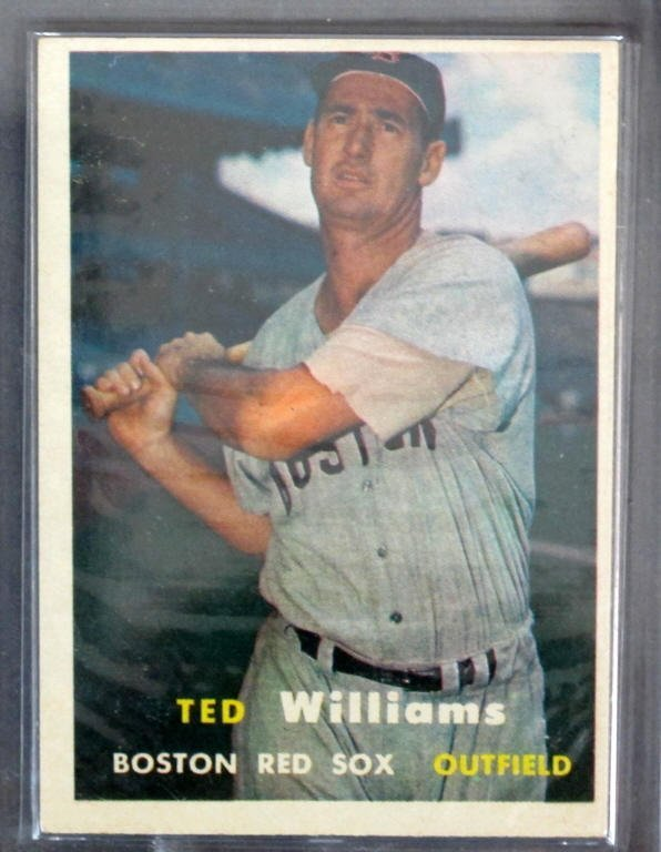 Ted Williams Base Ball Card