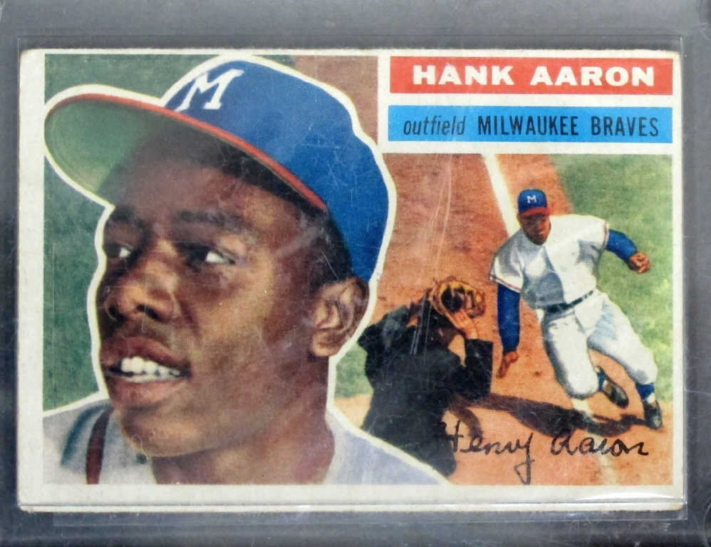 Hank Aaron Baseball Card