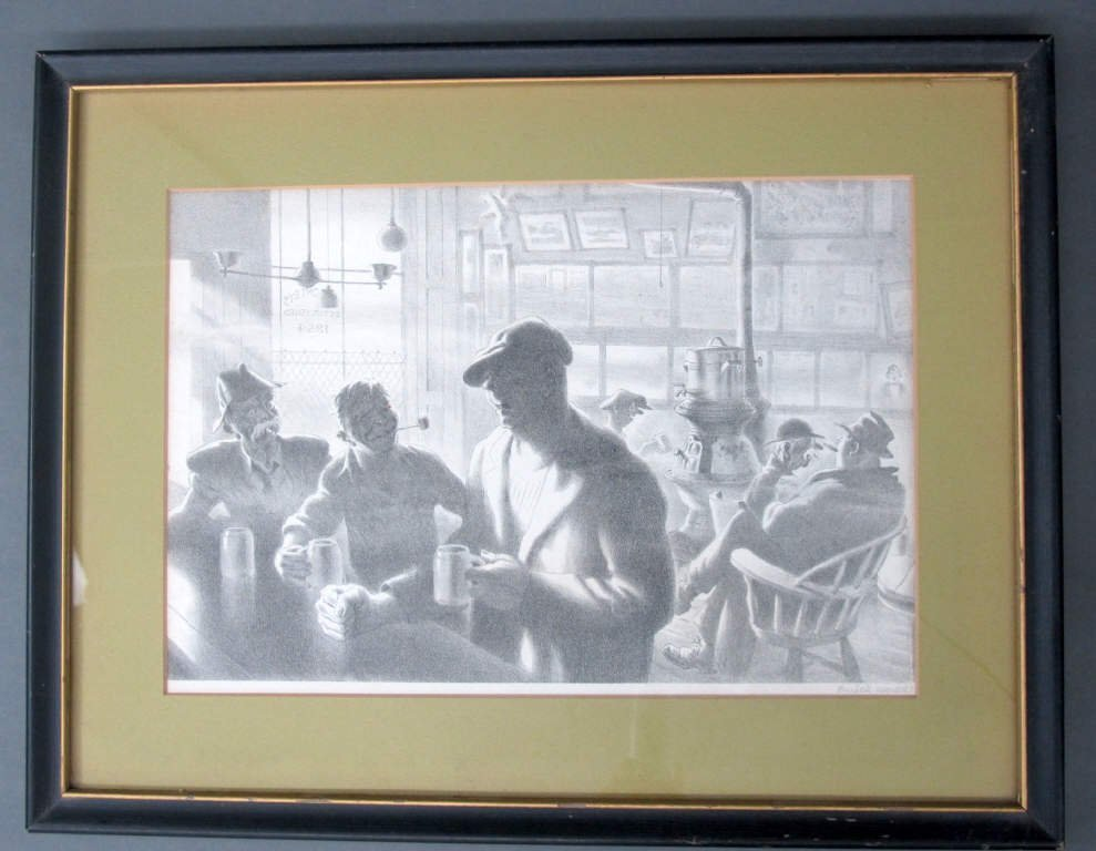 Ellison Hoover Signed Lithograph