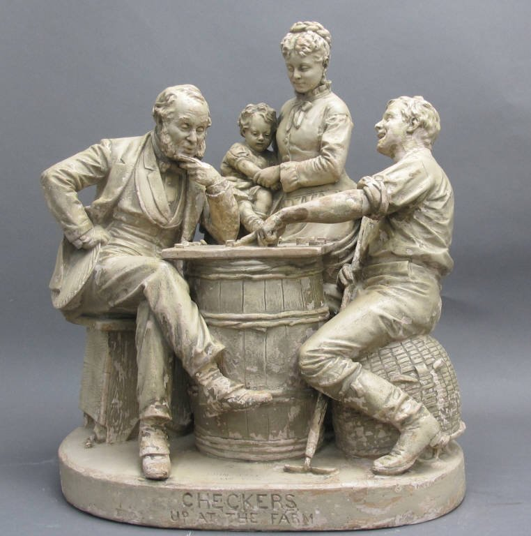 John Rogers Group Sculpture