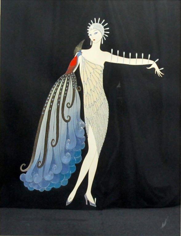 Diva I Print by Erte