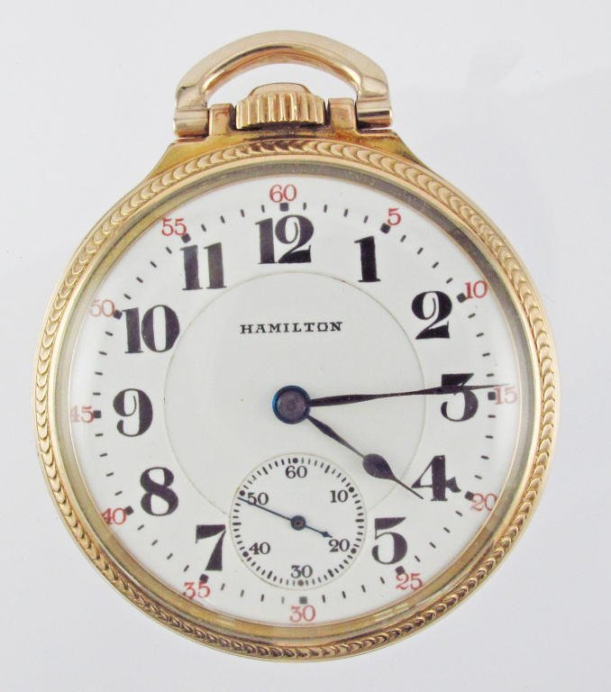HAMILTON Pocket Watch 992 Movement
