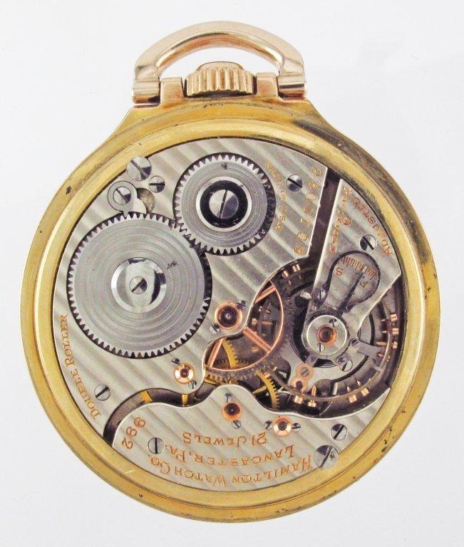 HAMILTON Pocket Watch 992 Movement - 2