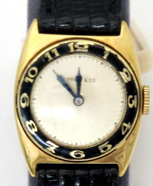 Tiffany wrist watch Signed Paul Vallette - 2
