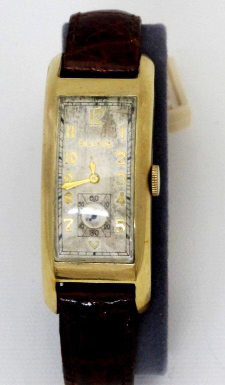 Bulova Wrist Watch Triple Signed 21J