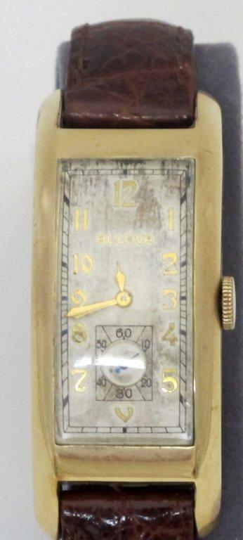 Bulova Wrist Watch Triple Signed 21J - 2