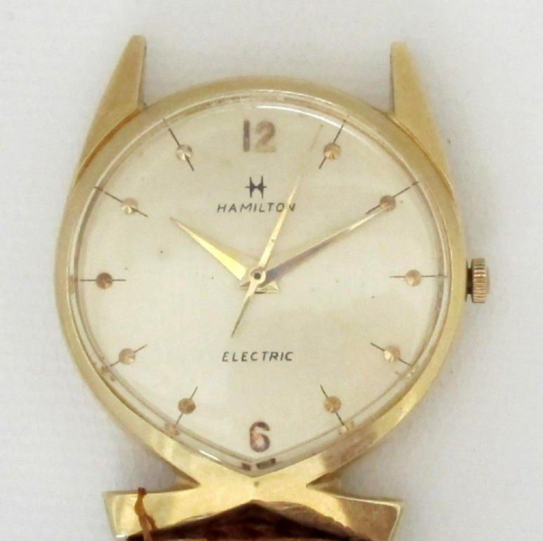 Hamilton Lord Lancaster Electric Watch 14K