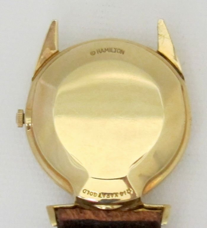 Hamilton Lord Lancaster Electric Watch 14K - 2