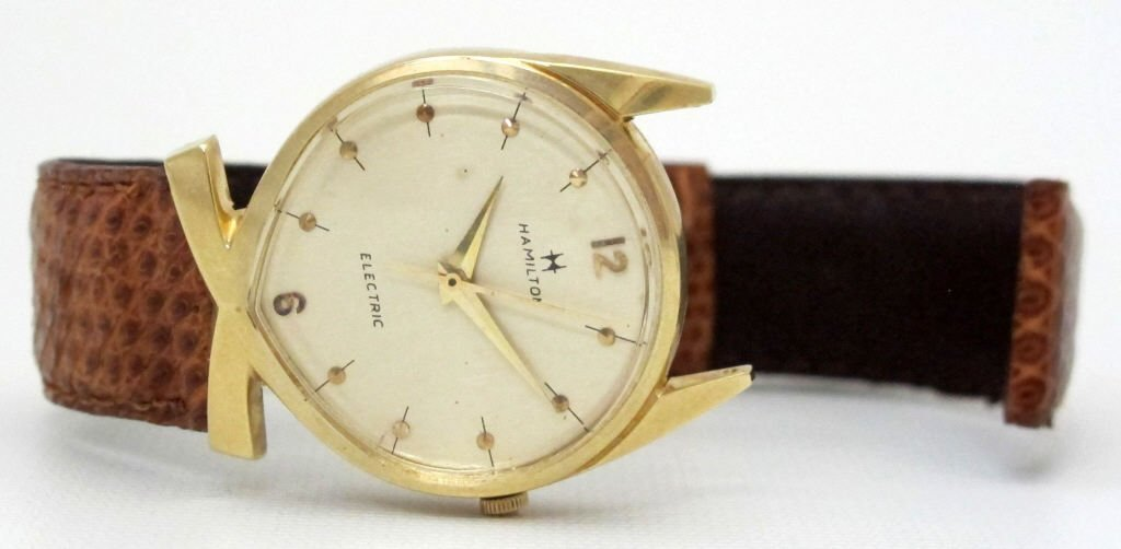 Hamilton Lord Lancaster Electric Watch 14K - 3