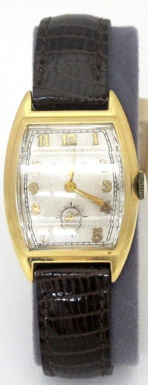 Bulova Wrist Watch 14K Beveled Crystal