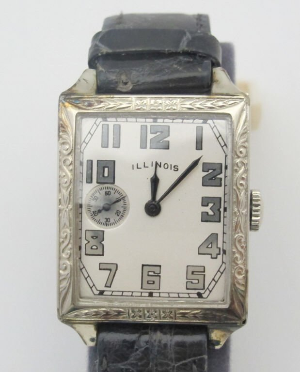 Illinois Wrist Watch 19J