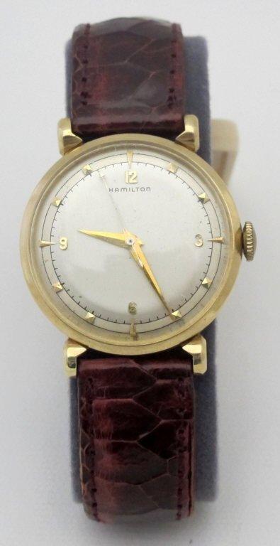 Hamilton Mechanical Wrist Watch Fleetwood