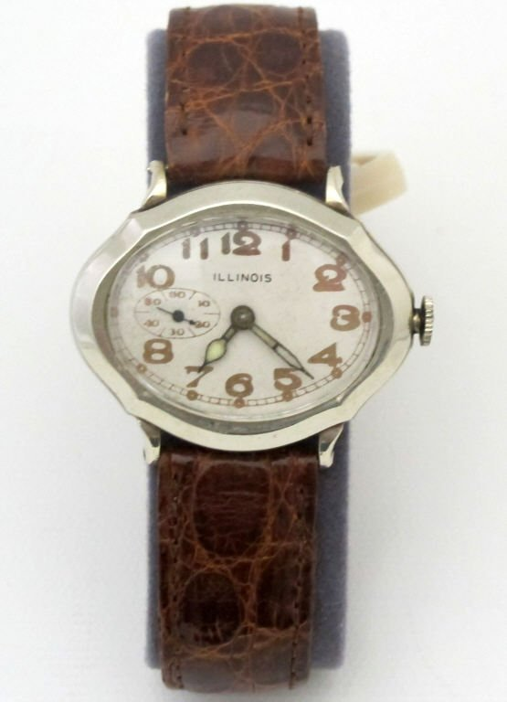 Illinois Mechanical Wrist Watch Model 164