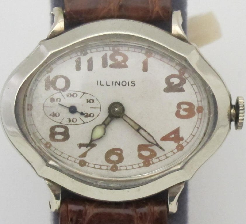 Illinois Mechanical Wrist Watch Model 164 - 2