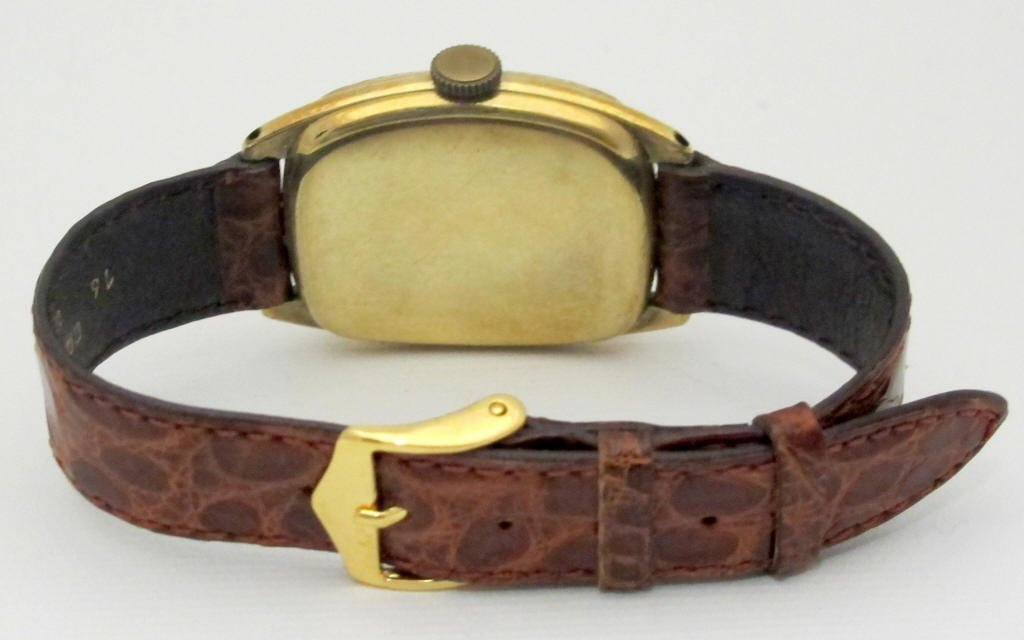 Illinois Mechanical Wrist Watch 19J Curved - 3