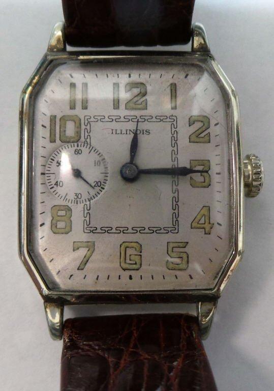 Illinois Mechanical Wrist Watch