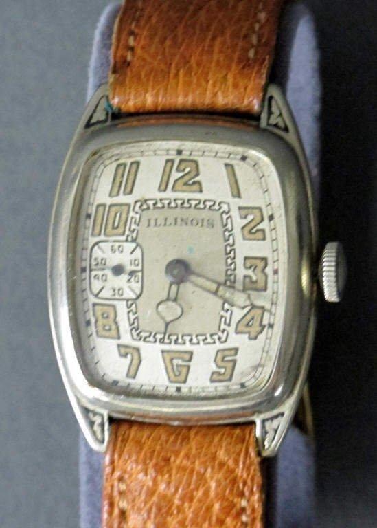 Illinois Mechanical Wrist Watch 17J Curved - 3