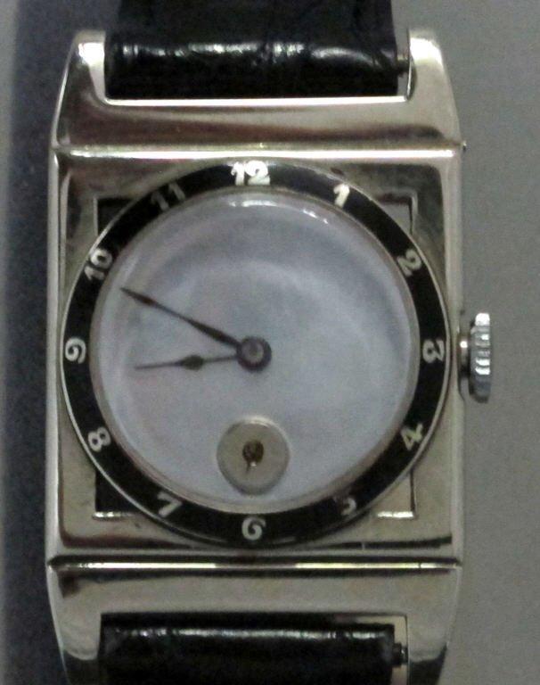 : A. Le Coultre Mechanical Wrist Watch