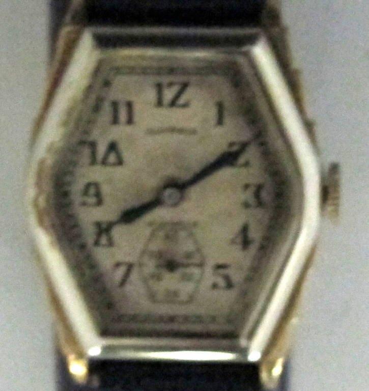 Illinois Mechanical Wrist Watch 17J
