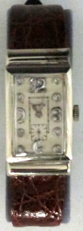 Longines Mechanical Wrist Watch 14K Diamonds - 2