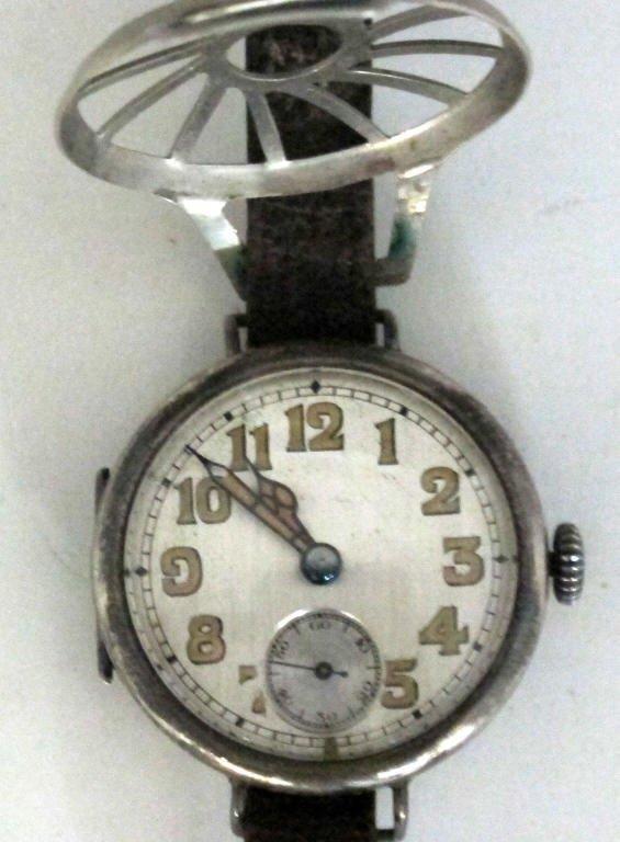 Fulton Mechanical Wrist Watch Sterling .935