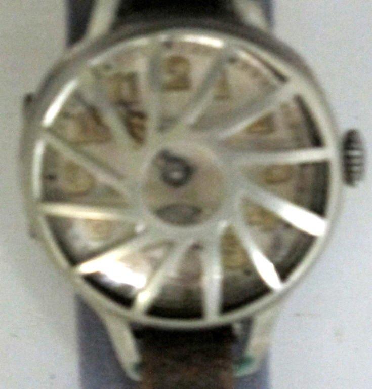 Fulton Mechanical Wrist Watch Sterling .935 - 3