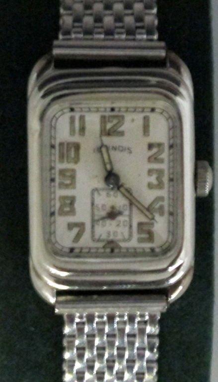 Illinois Mechanical Wrist Watch Model 197