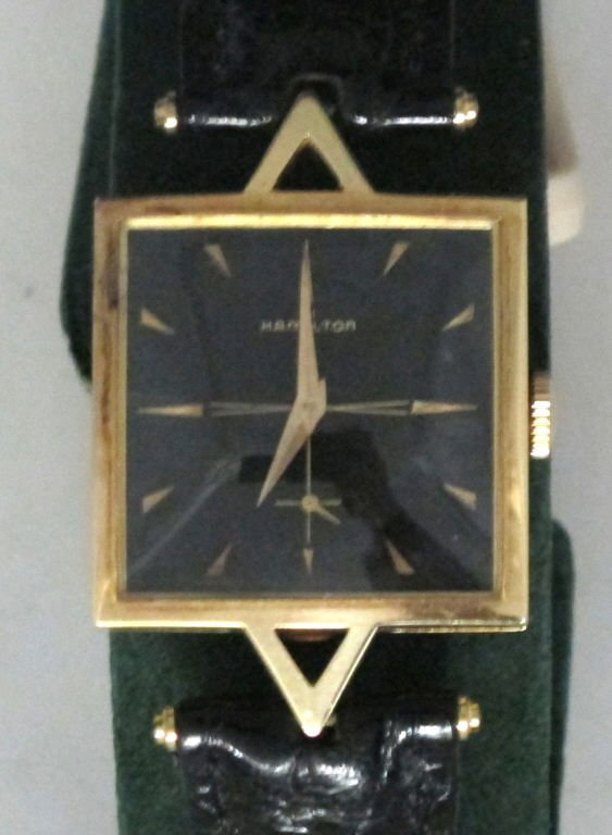 Hamilton Mechanical Wrist Watch 14K 22J