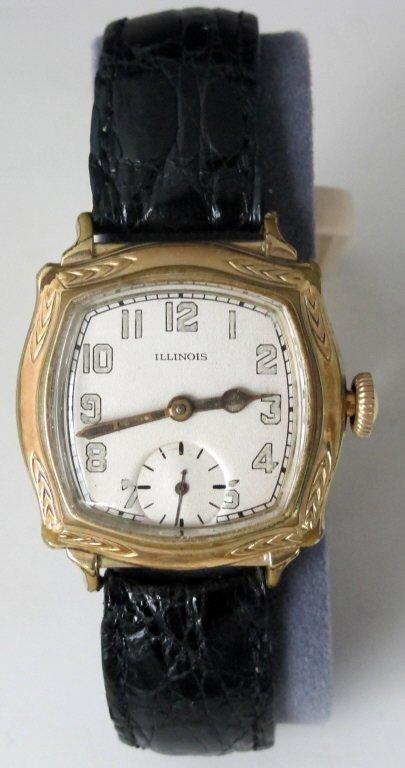 Illinois Mechanical Wrist Watch Model 176