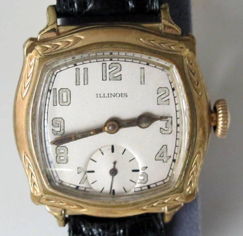 Illinois Mechanical Wrist Watch Model 176 - 2