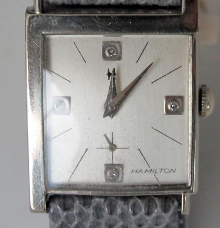 Hamilton Mechanical Wrist Watch 22J Diamond Dial