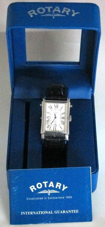 Rotary Elite Reversible Wrist Watch