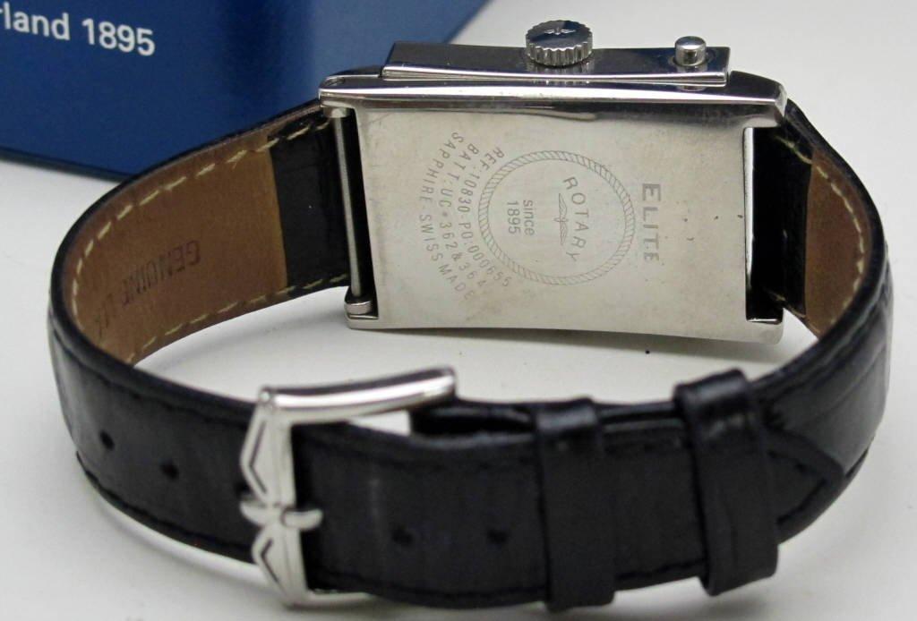 Rotary Elite Reversible Wrist Watch - 3