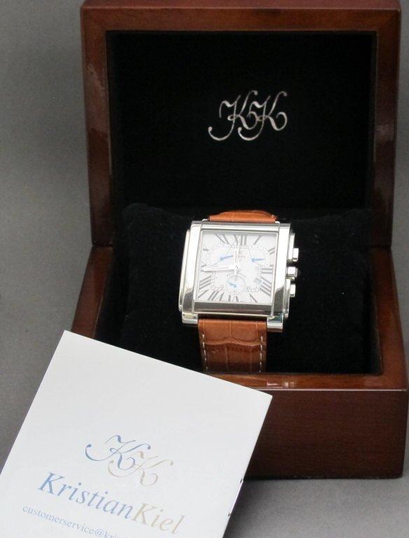 KristianKiel Quartz Wrist Watch Elan Chronograph