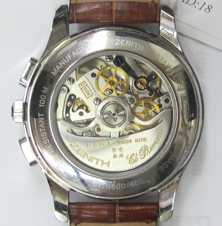 Zenith El Primero Wrist Watch - 5