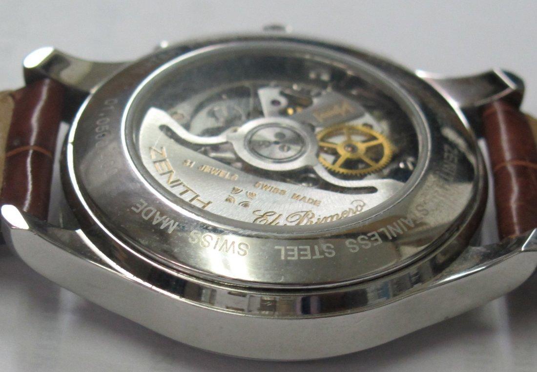 Zenith El Primero Wrist Watch - 7